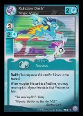 Rainbow Dash, Winged Wonder aus dem Set Premiere Promo
