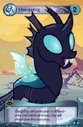 Changeling aus dem Set Defenders of Equestria Token